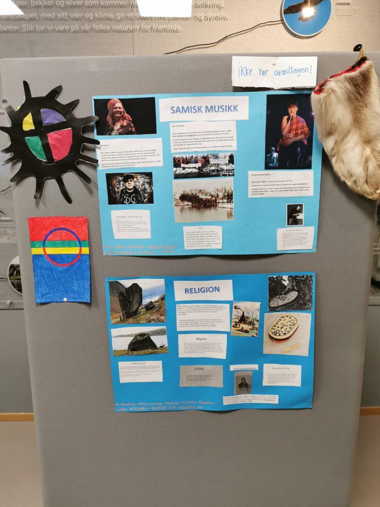 Elevutstilling samisk